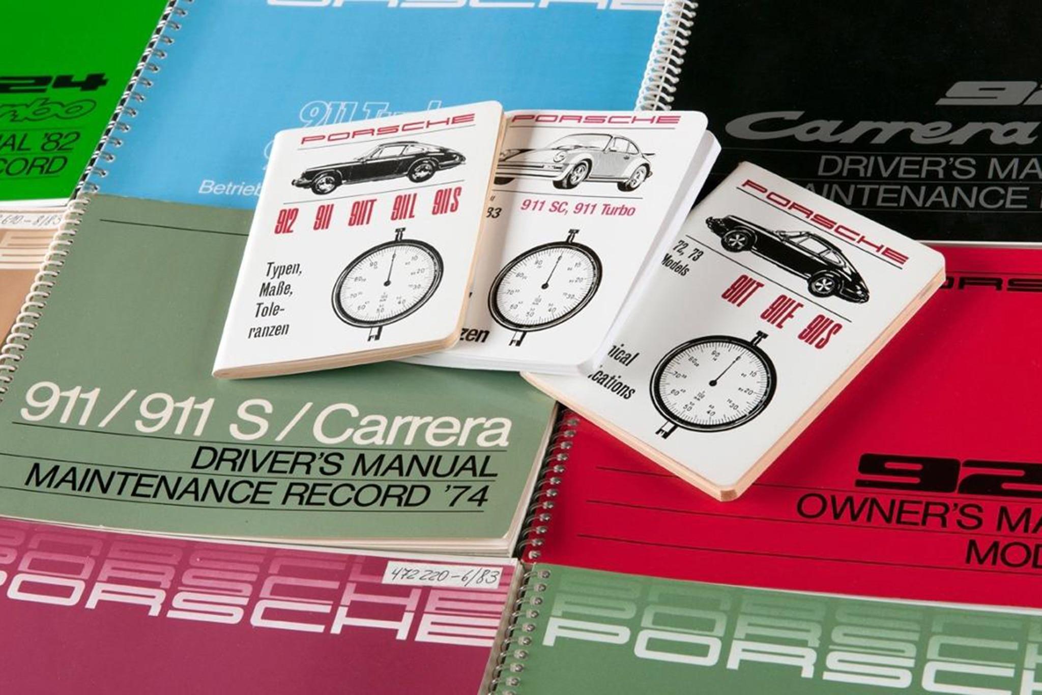 Porsche Classic Drivers Manual Reprint 2