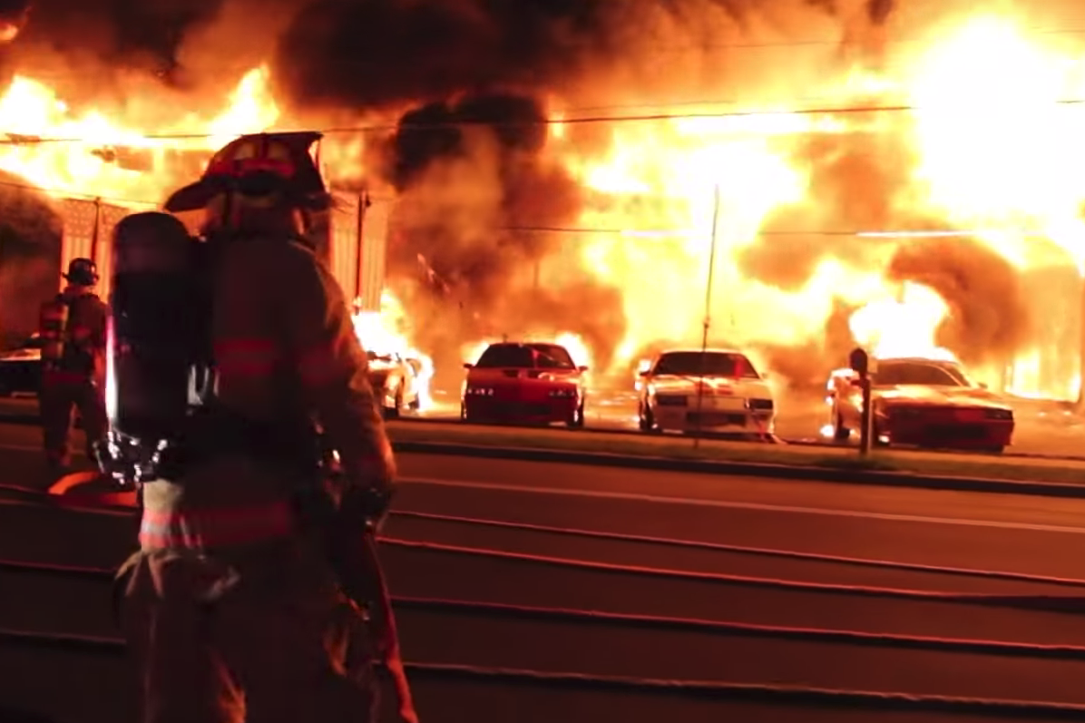 This I Know Is True Chevrolet Dealership Car Fire