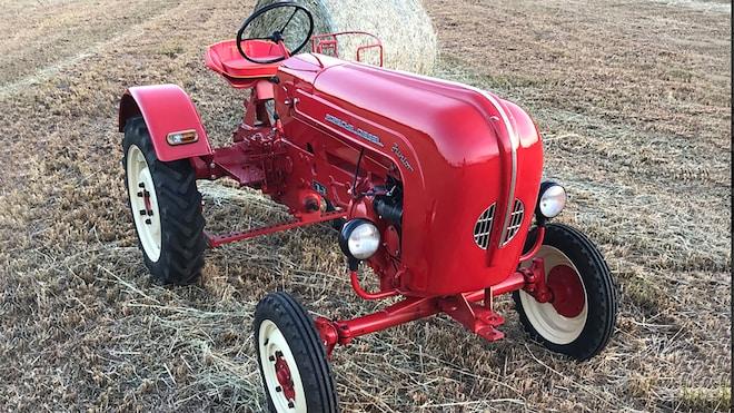 1958 Porsche Diesel Junior 108L Tractor Front Three Quarter