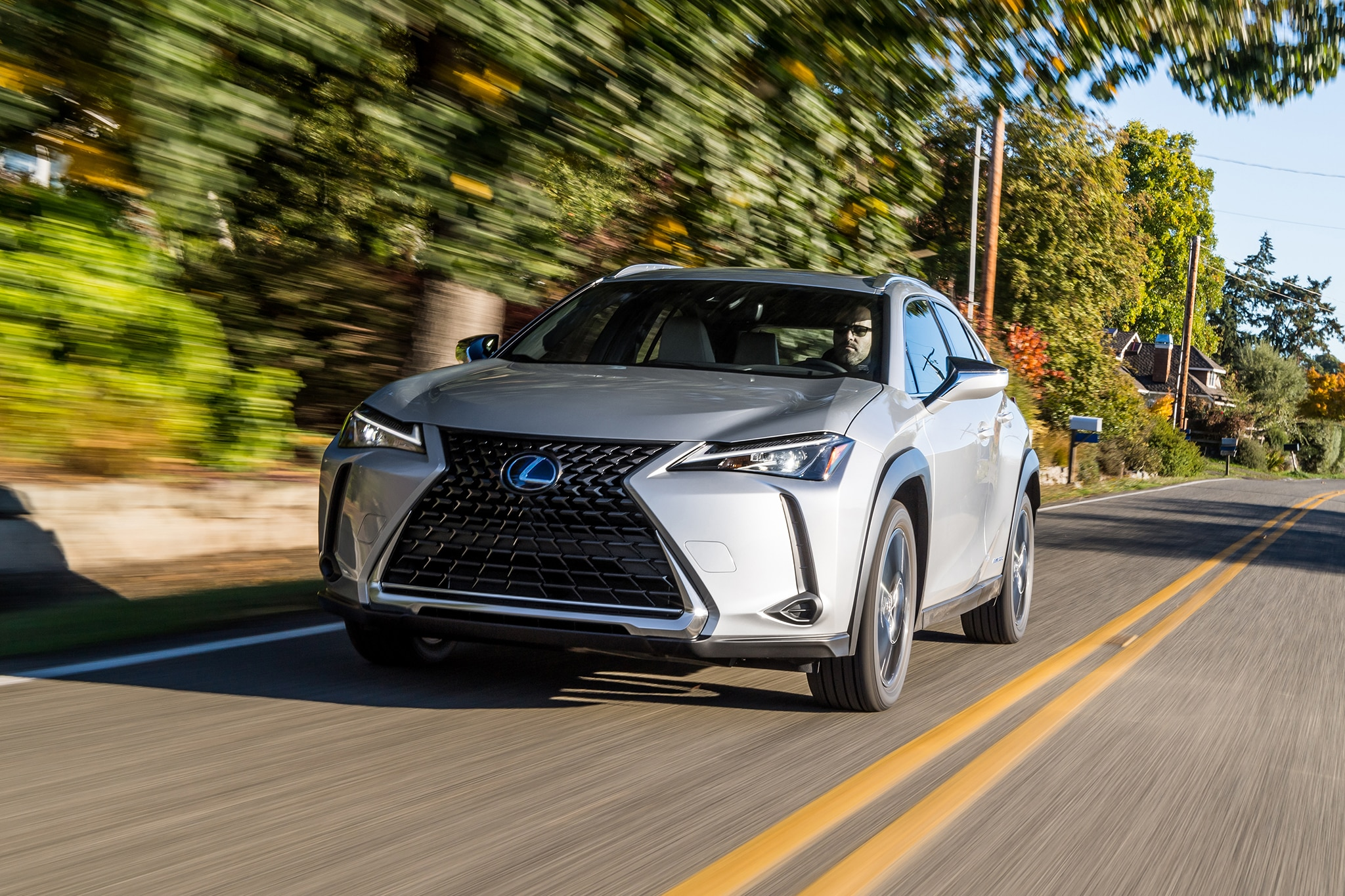 2019 Lexus UX250h Hybrid Review: Small, Size, Big ...
