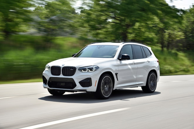 2020 BMW X3 M Front In Motion