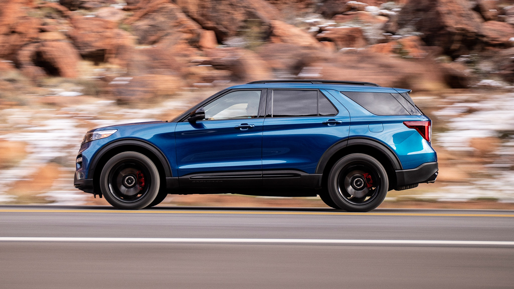 2020 Ford Explorer ST First Drive Review: All About the ...