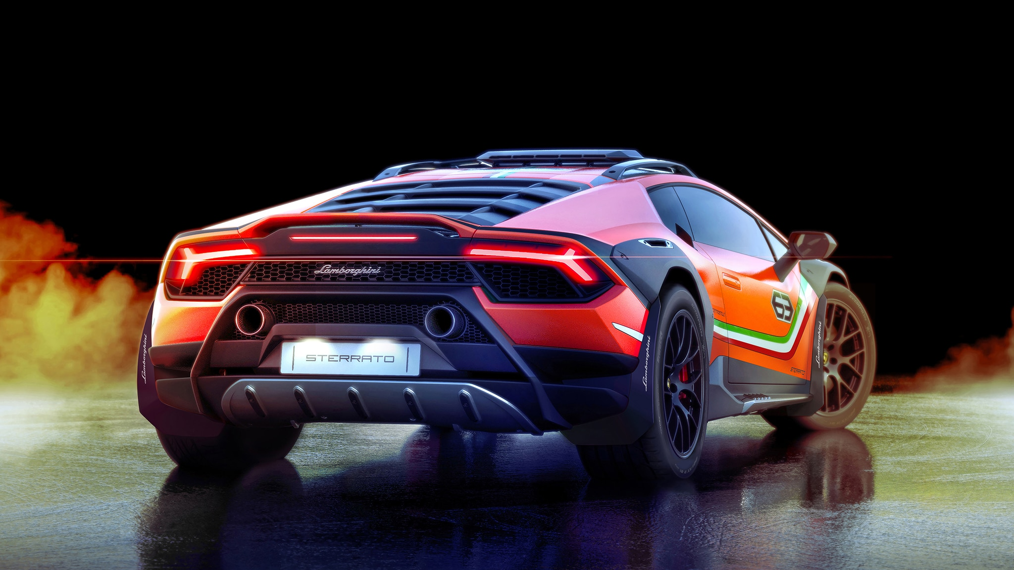 The Lamborghini Hurac 225 N Sterrato Is An Off Road Supercar