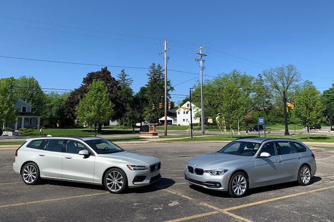 Volvo V60 And BMW 3 Series 17