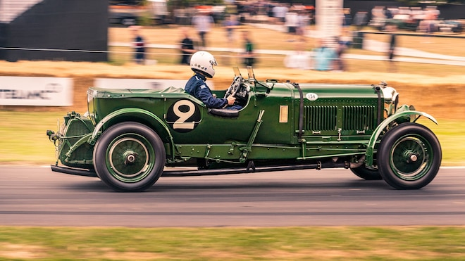1930 Bentley Speed Six Old Number Two Side Race