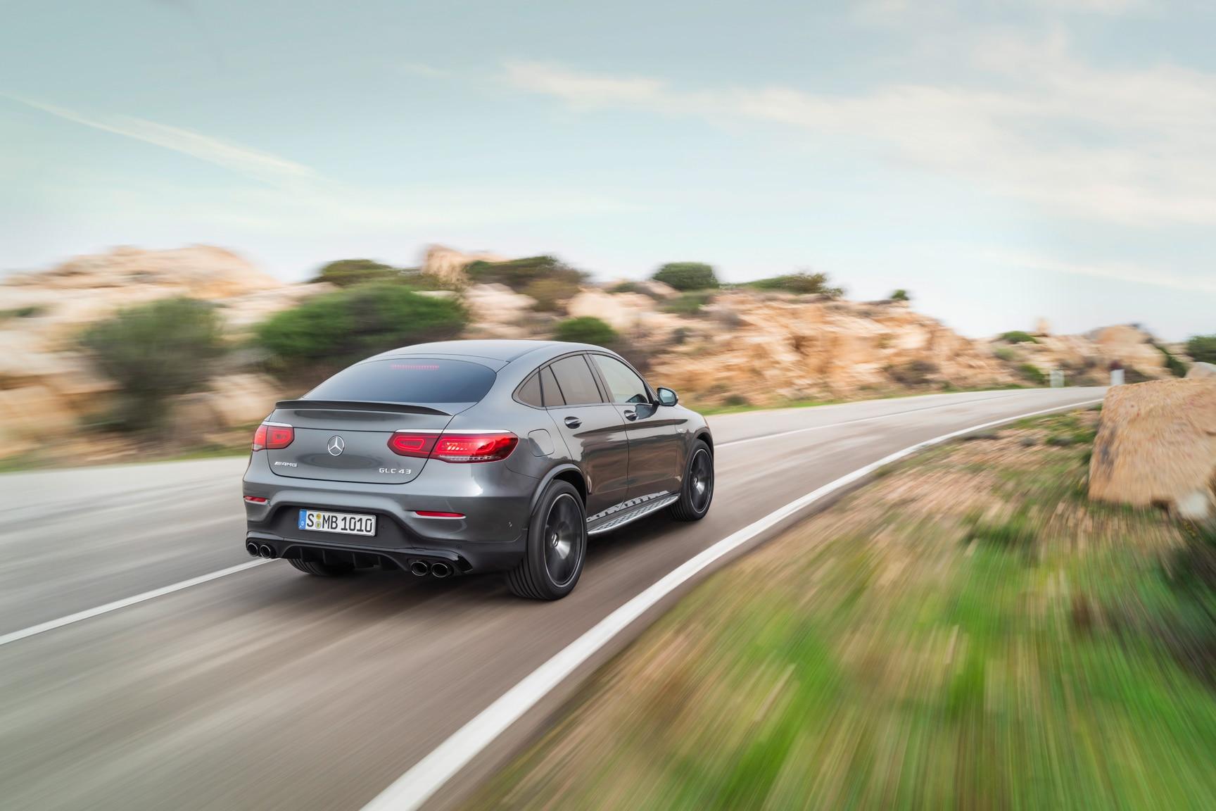 2020 Mercedes-AMG GLC43 Gets More Horses   Automobile Magazine