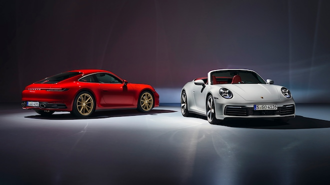 2020 Porsche 911 Carrera Cabriolet And Coupe