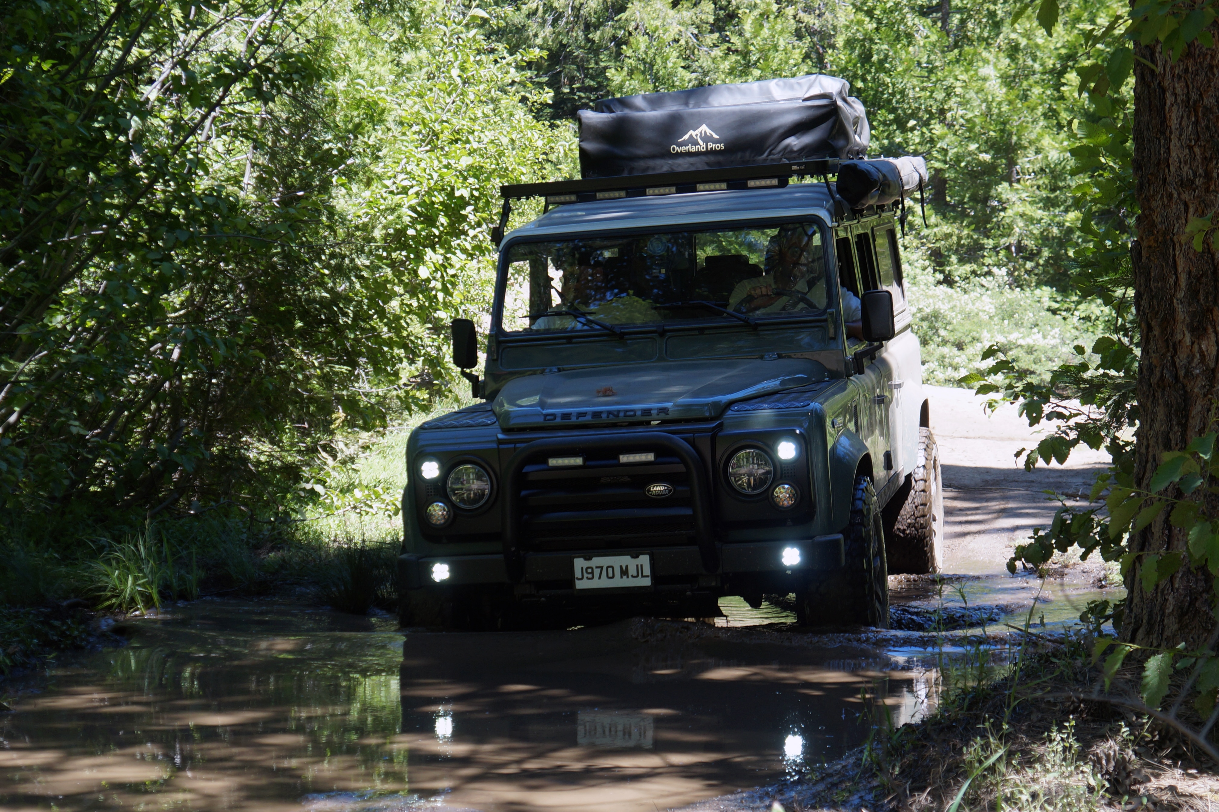 Learning to Off-Road in a $150K+ Land Rover Defender