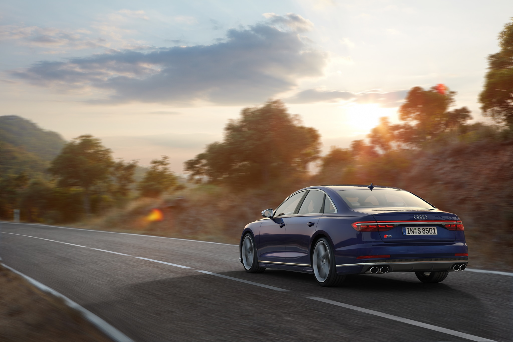 The 2020 Audi S8 Packs 563 HP and Bristles with Tech
