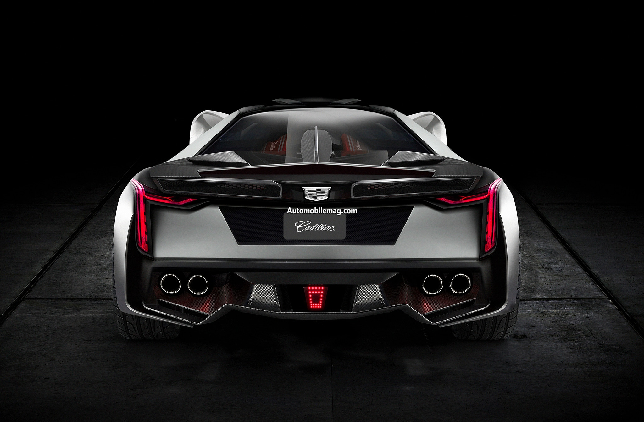 what if cadillac built a halo supercar based on the 2020 corvette c8