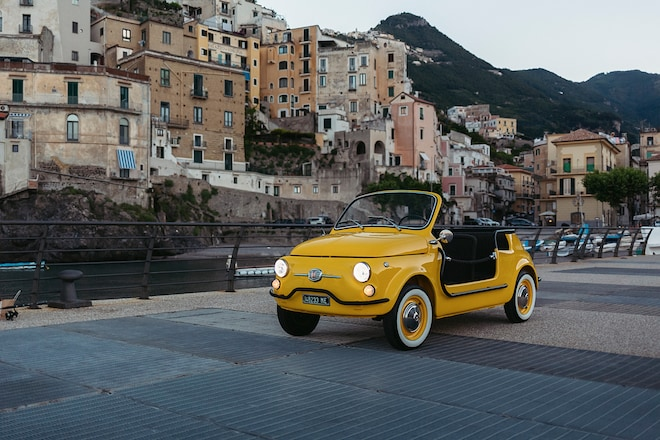 Fiat 500 Jolly Yellow 1 2