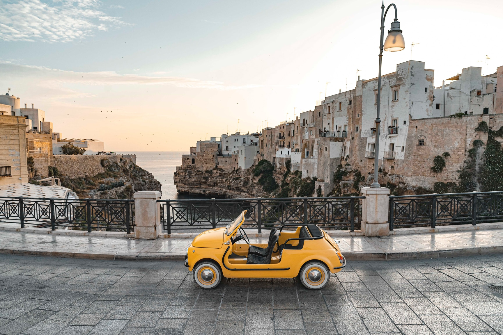 Rent A Sweet Ev Converted Fiat Jolly In Italy Automobile Magazine