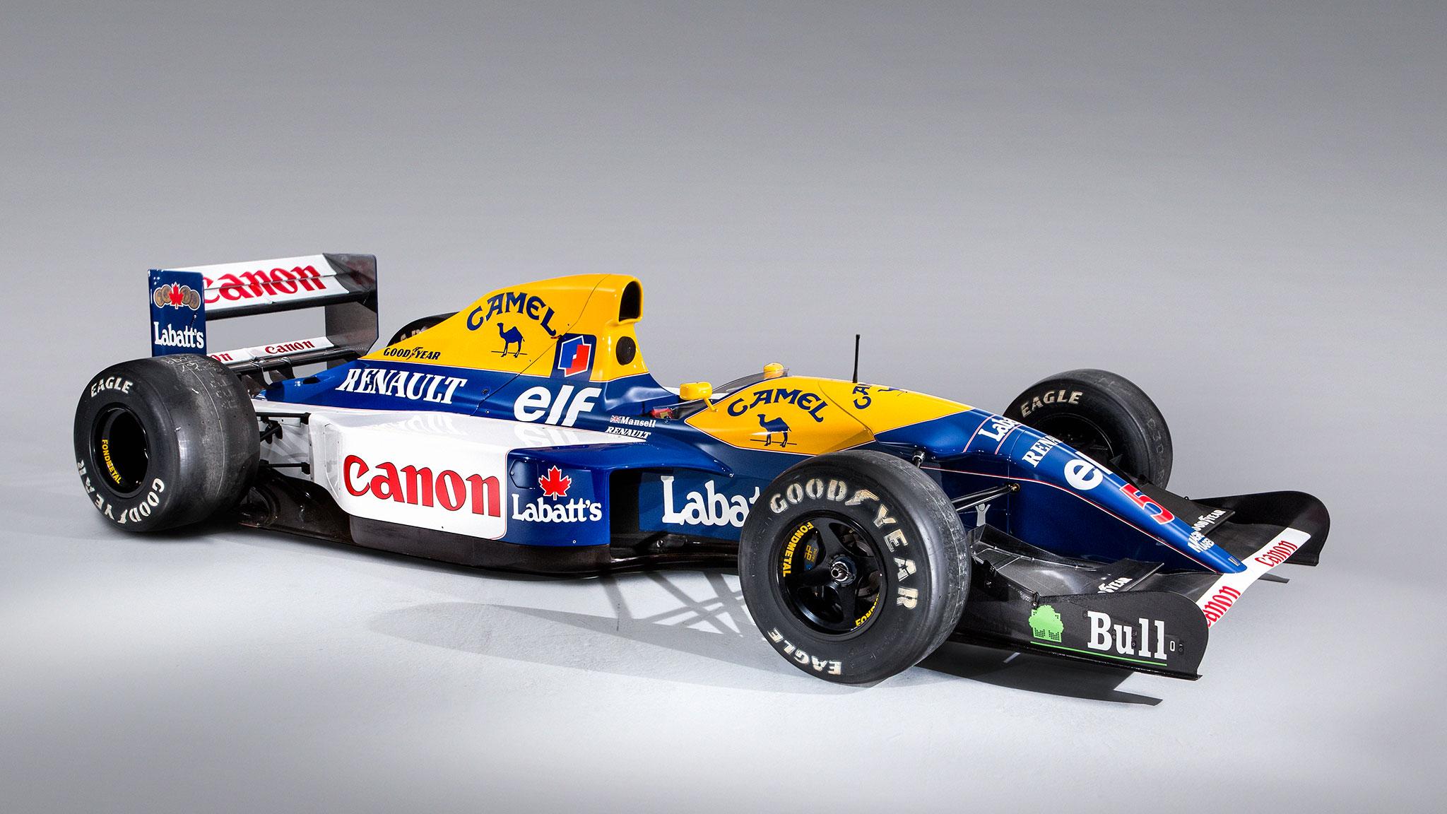 Mansell's 1992 Williams Formula 1 Car Wins Again | Automobile Magazine
