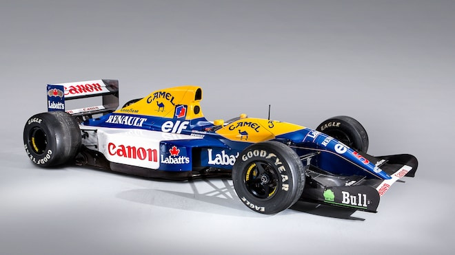 1992 Wiliiams Renault F1 FW14B Front Three Quarter