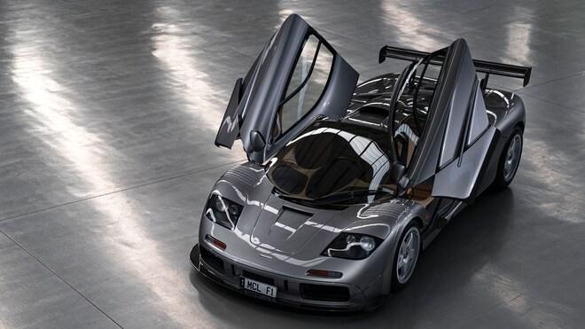1994 McLaren F1 LM Overhead