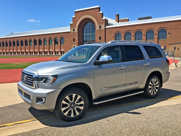 2019 Toyota Sequoia Limited 12