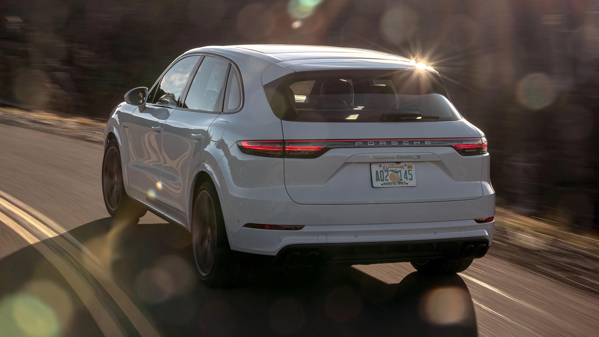The 2020 Porsche Cayenne Turbo S E Hybrid Has Supercar