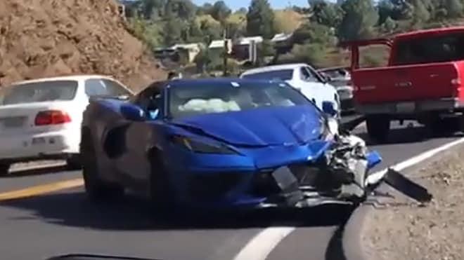 Another First: 2020 C8 Chevy Corvette Crash | Automobile ...