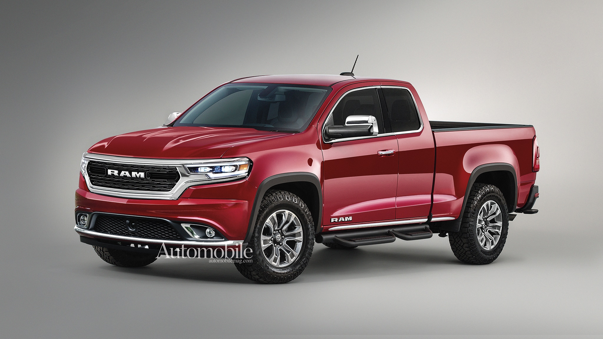 2021 Ram Dakota Midsize Pickup Truck: Renderings + Rumors ...