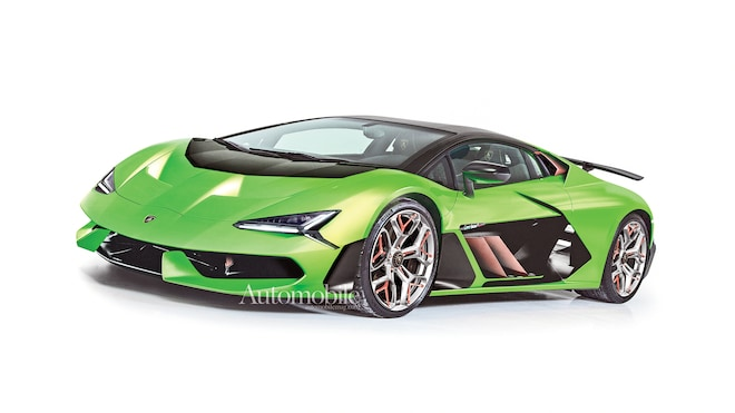 2022 Lamborghini Aventador Replacement: Renderings + Rumors