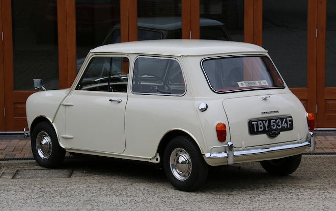 Ever See a Classic Mini with Just 272 Original Miles