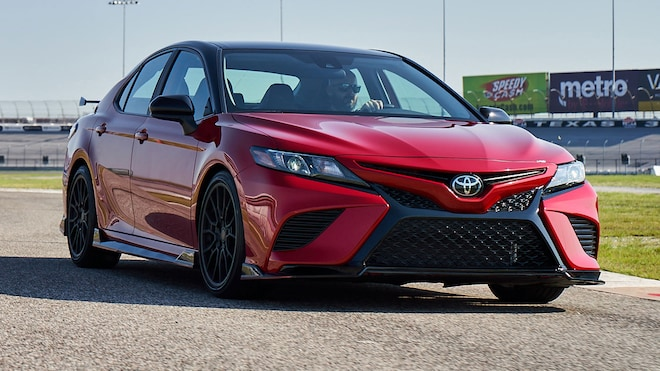 2020 Toyota Camry TRD Drives Better Than We Expected