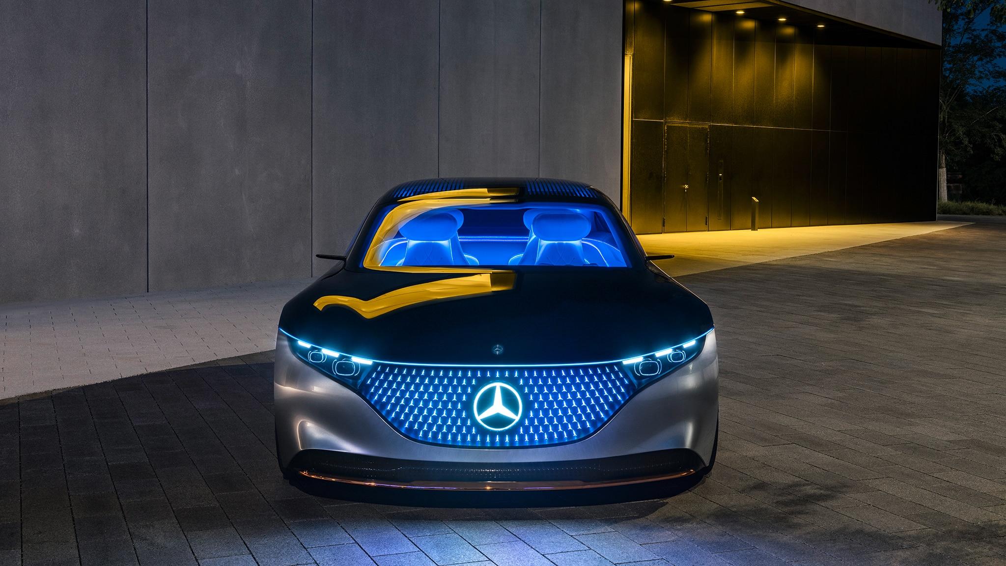How the Mercedes EQS Concept Will Battle Tesla ...
