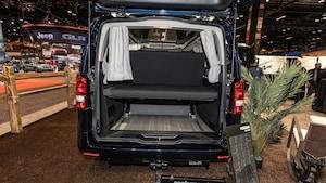 2020 Mercedes Benz Metris Weekender Camper Van At Chicago Auto Show 15