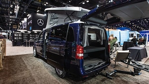 2020 Mercedes Benz Metris Weekender Camper Van At Chicago Auto Show 18