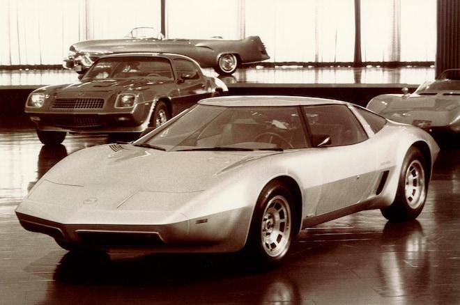 1973 Corvette 4 Rotor Aerovette Prototype Front Side View1