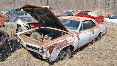 Muscle Car Spotting In A Michigan Junkyard Automobile Magazine