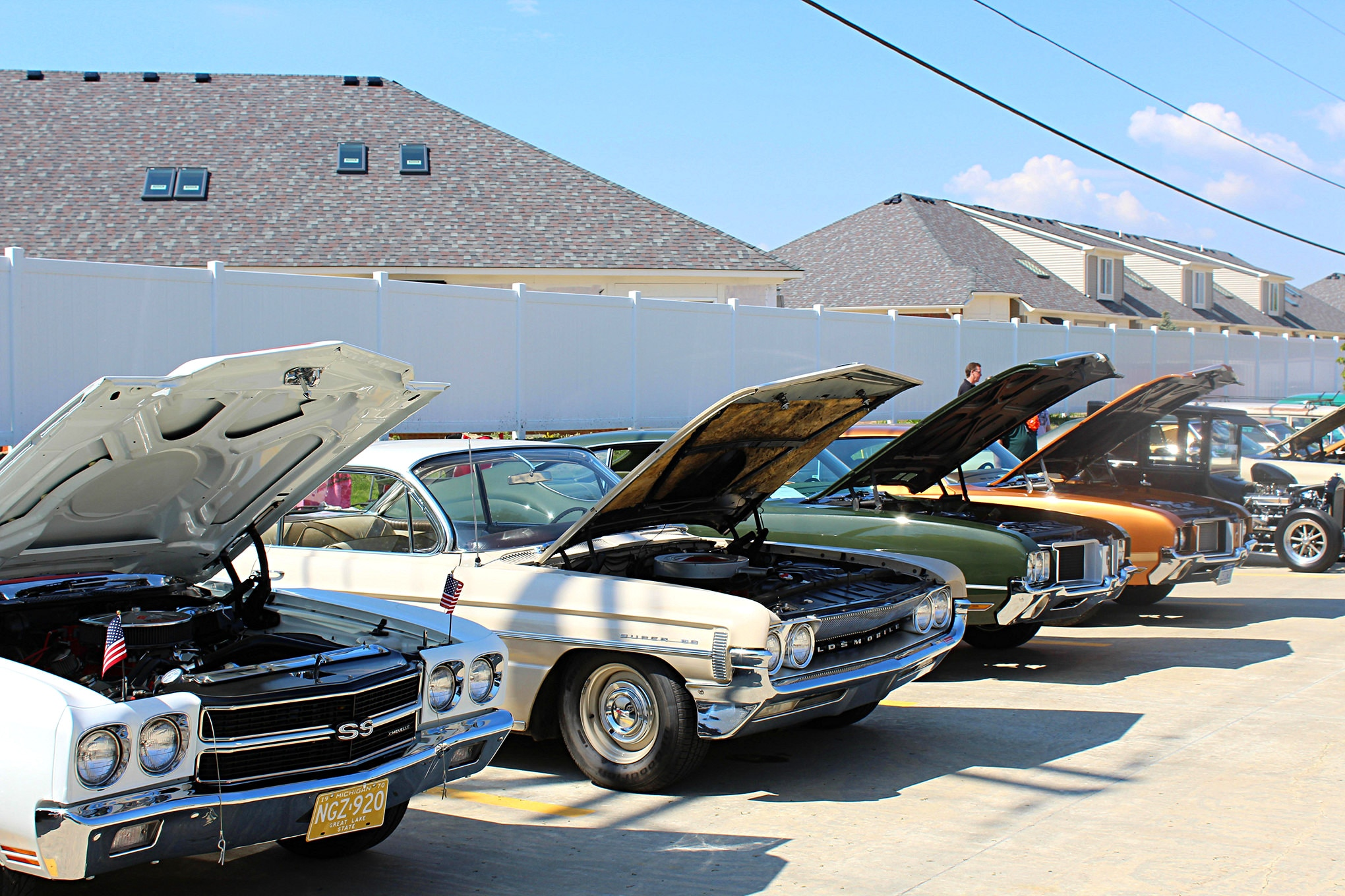 2017 Inline Tube Open House Row Of Cars