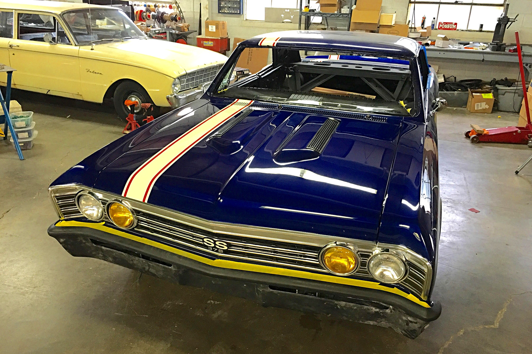 1967 Chevrolet Chevelle Pro Touring Modern Makeover with Classic