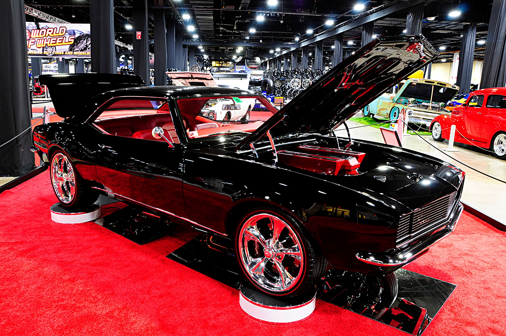 Th Annual Town Fair Tire Boston World Of Wheels Automobile Magazine - World of wheels car show boston