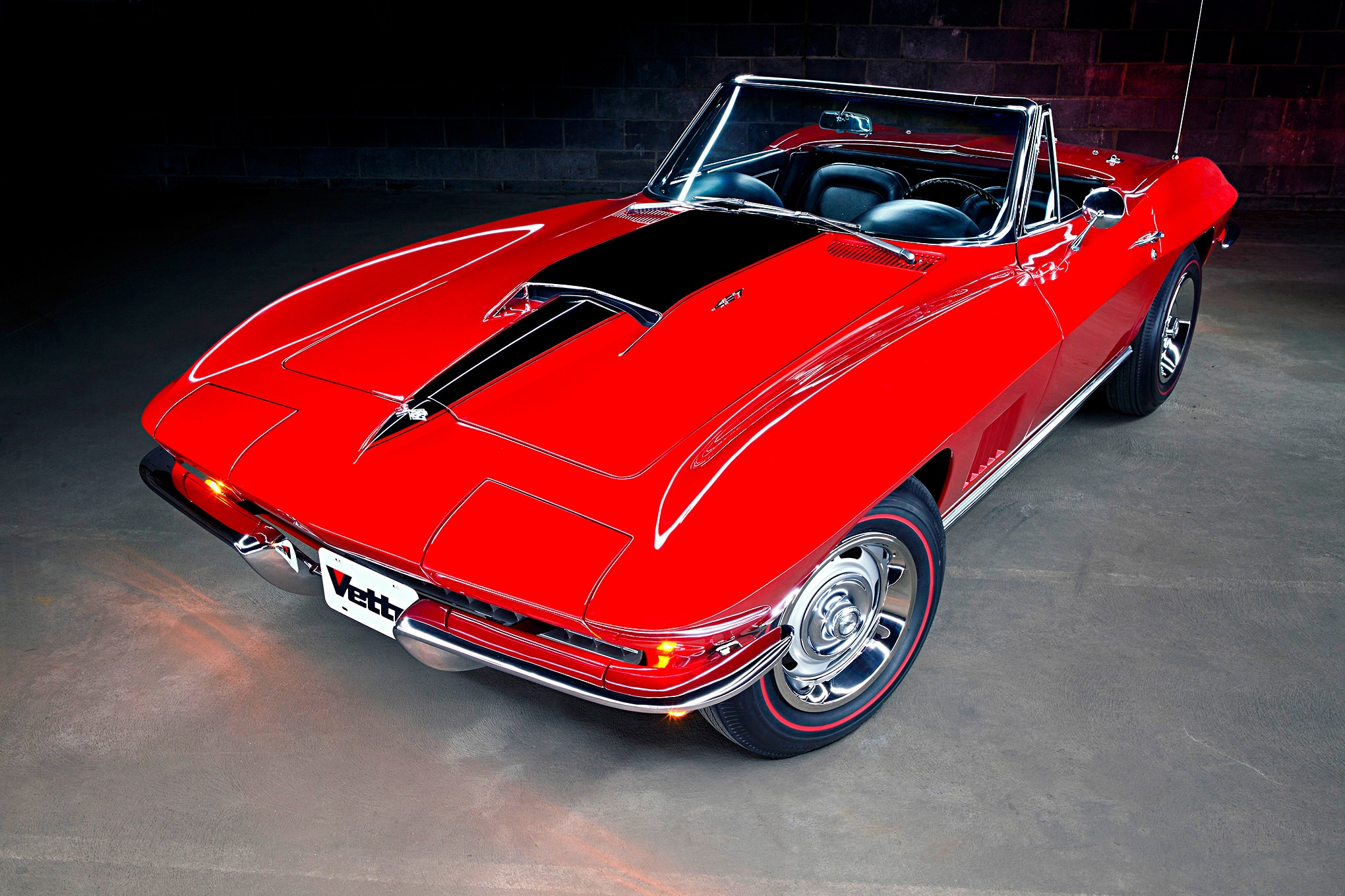 This Concours-Ready 1967 Chevrolet Corvette 427 Convertible Packs a