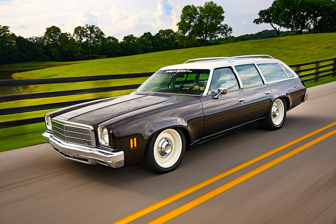 001 1974 Chevelle Wagon Turbo Ls Holley