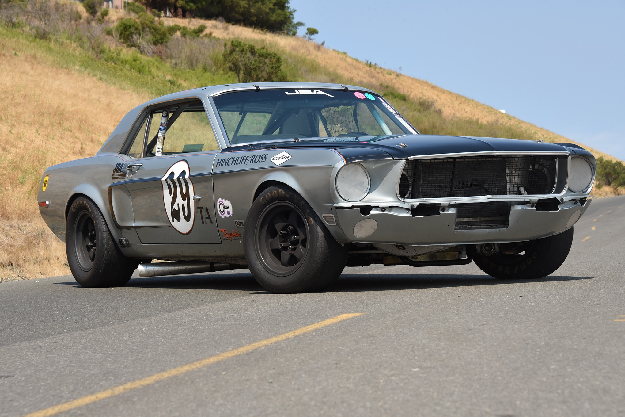 Trans-Am 1968 Ford Mustang Gets New Life | Automobile Magazine