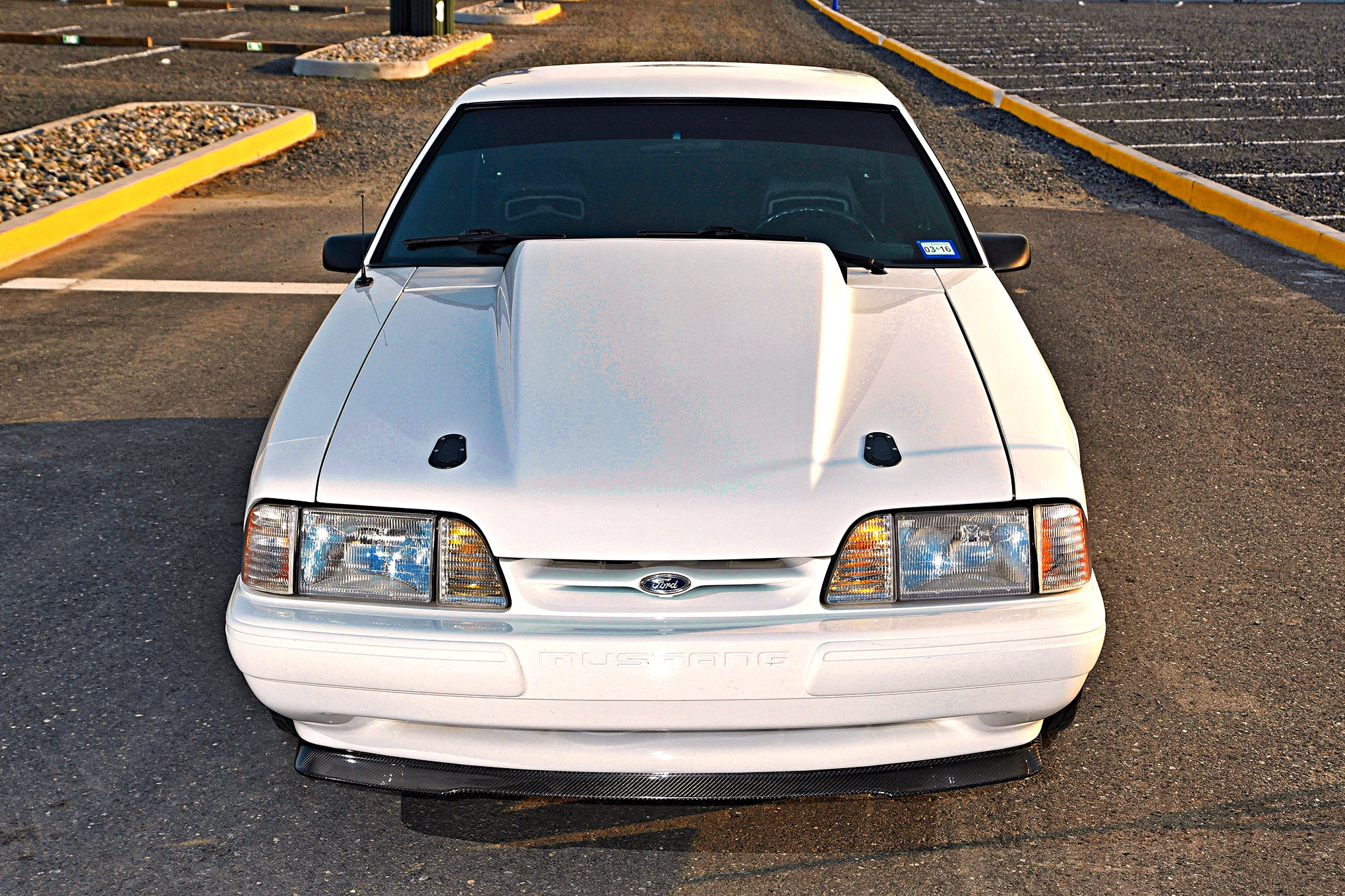 This Fierce Fox-Body Ford Mustang Is a '90s Notchback