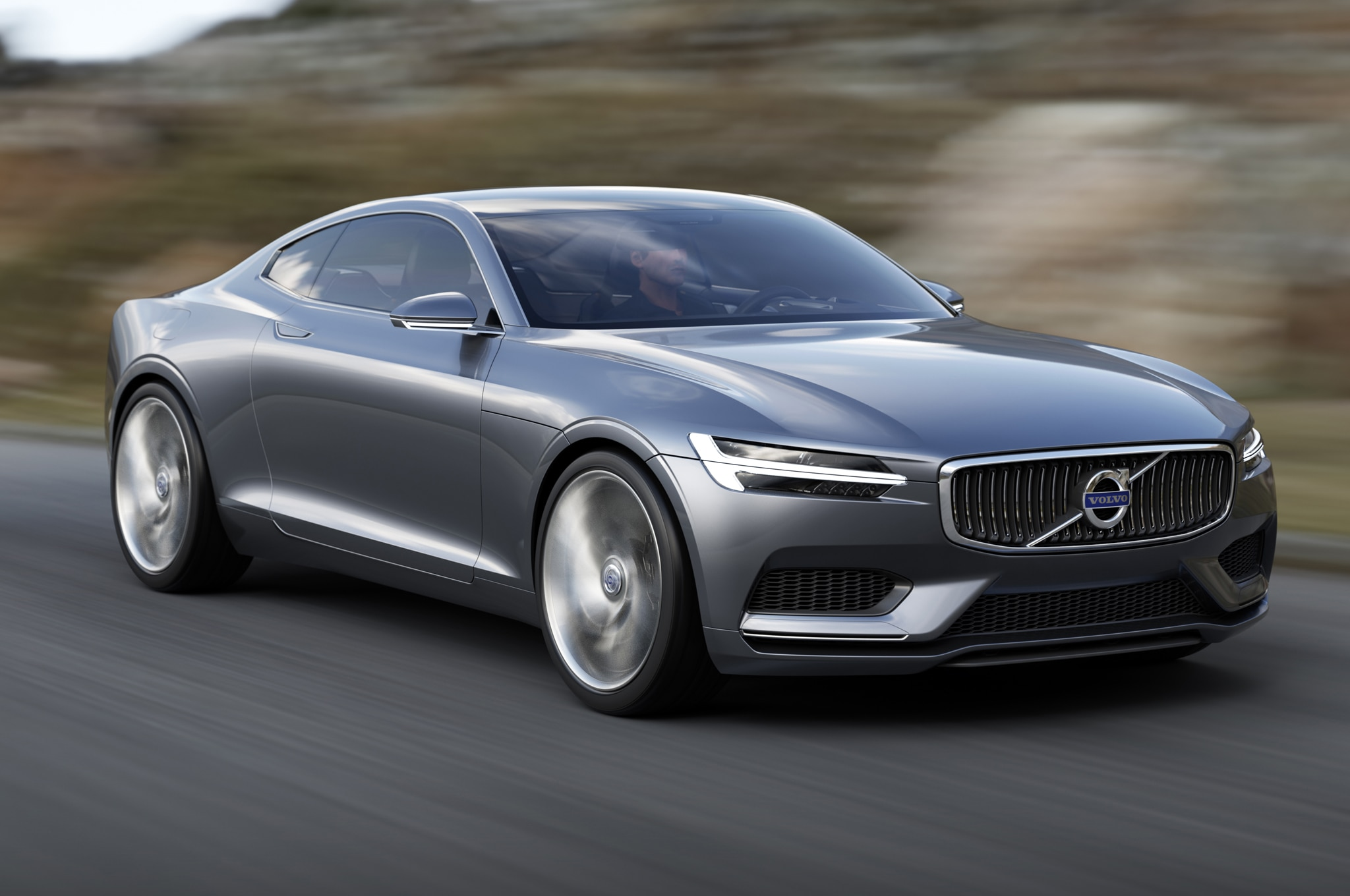 Volvo Concept Coupe Front Three Quarter In In Motion 052