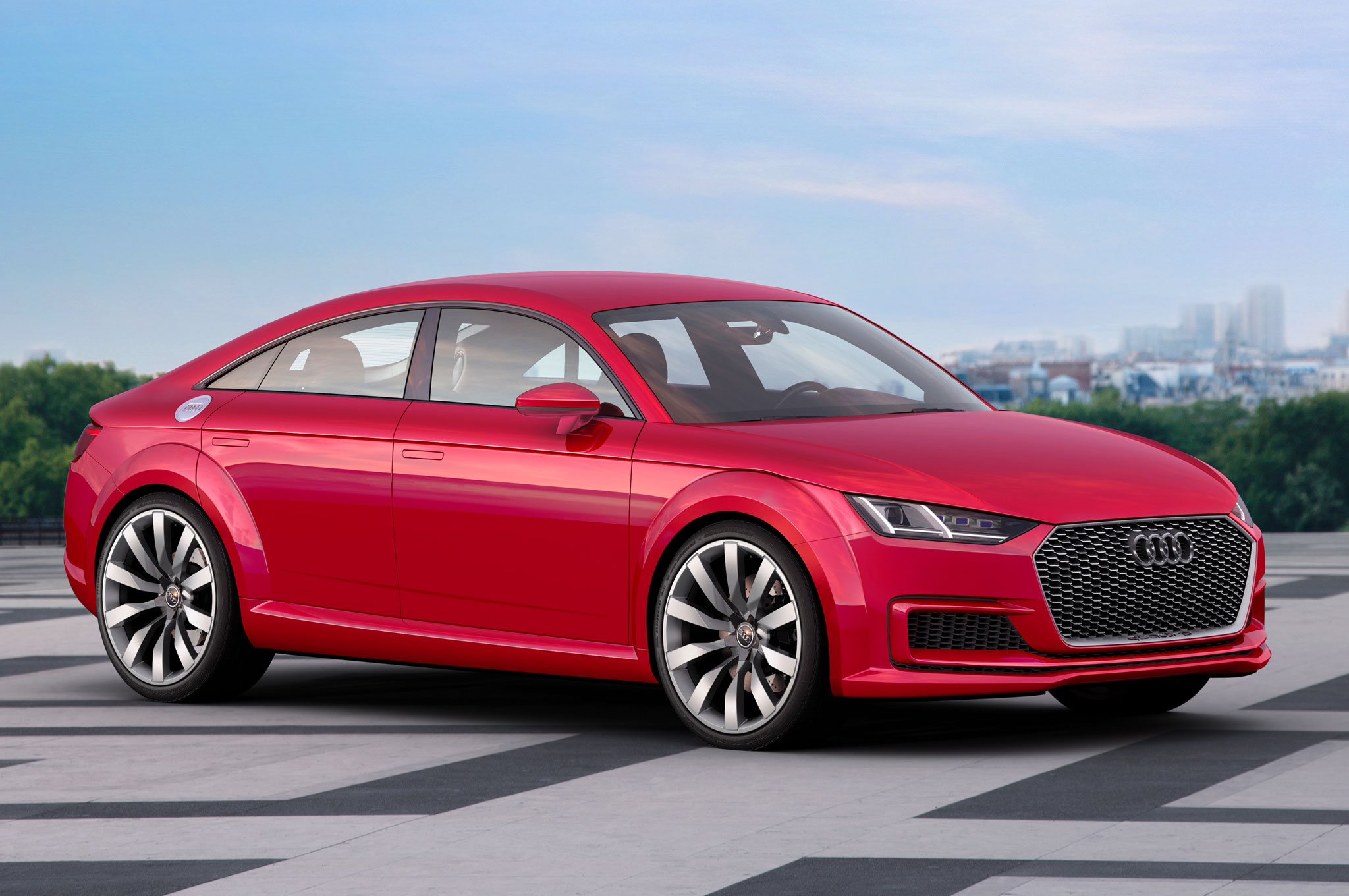 Audi TT Sportback Concept Front Three Quarter View 21