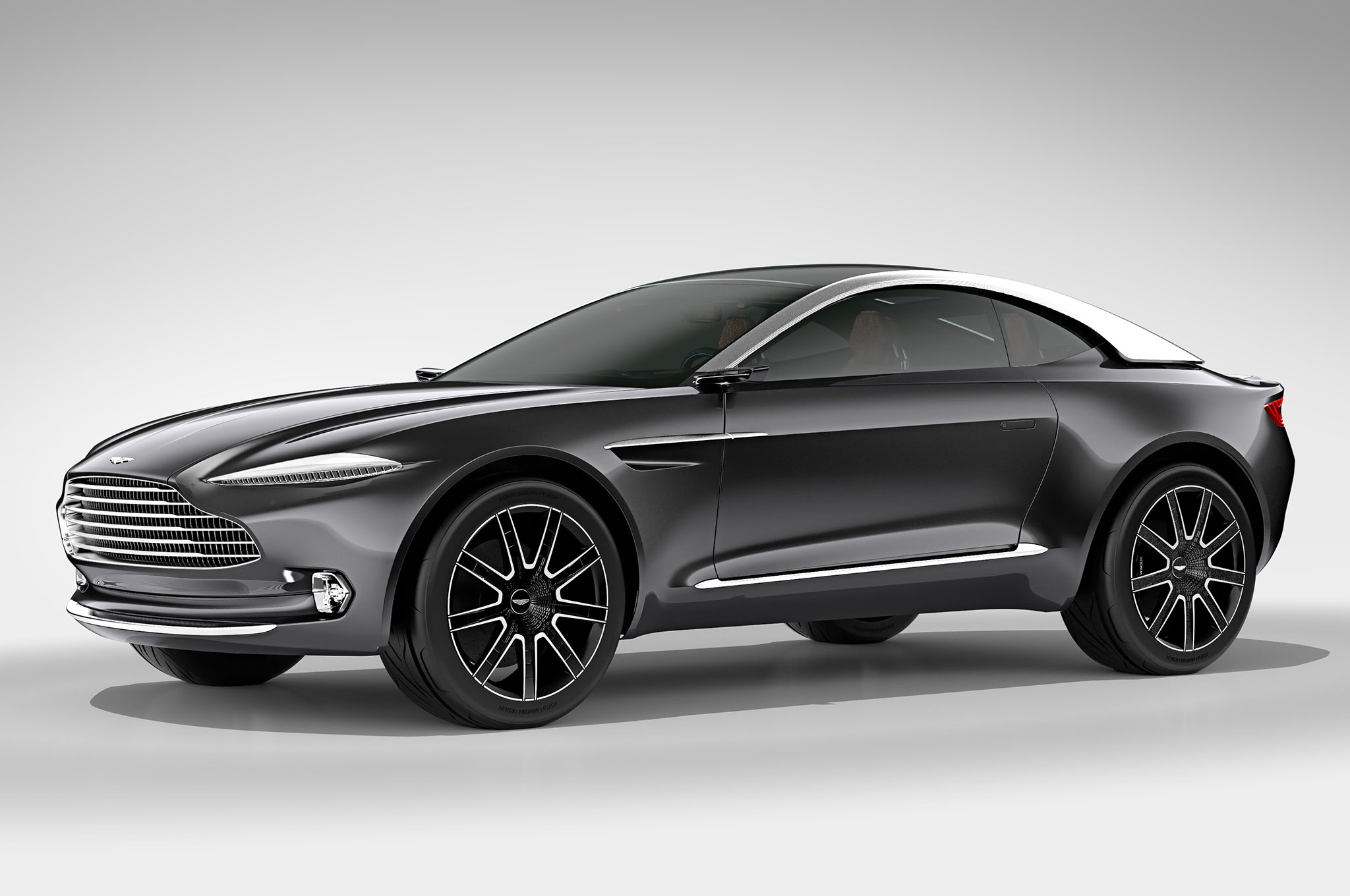 Aston Martin DBX Concept Front Three Quarter Studio3