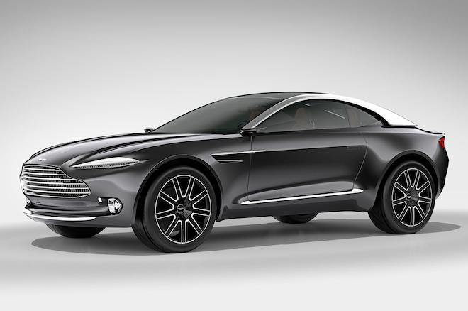 Aston Martin DBX Concept Front Three Quarter Studio3