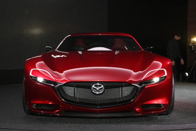 Mazda RX Vision Concept Front End