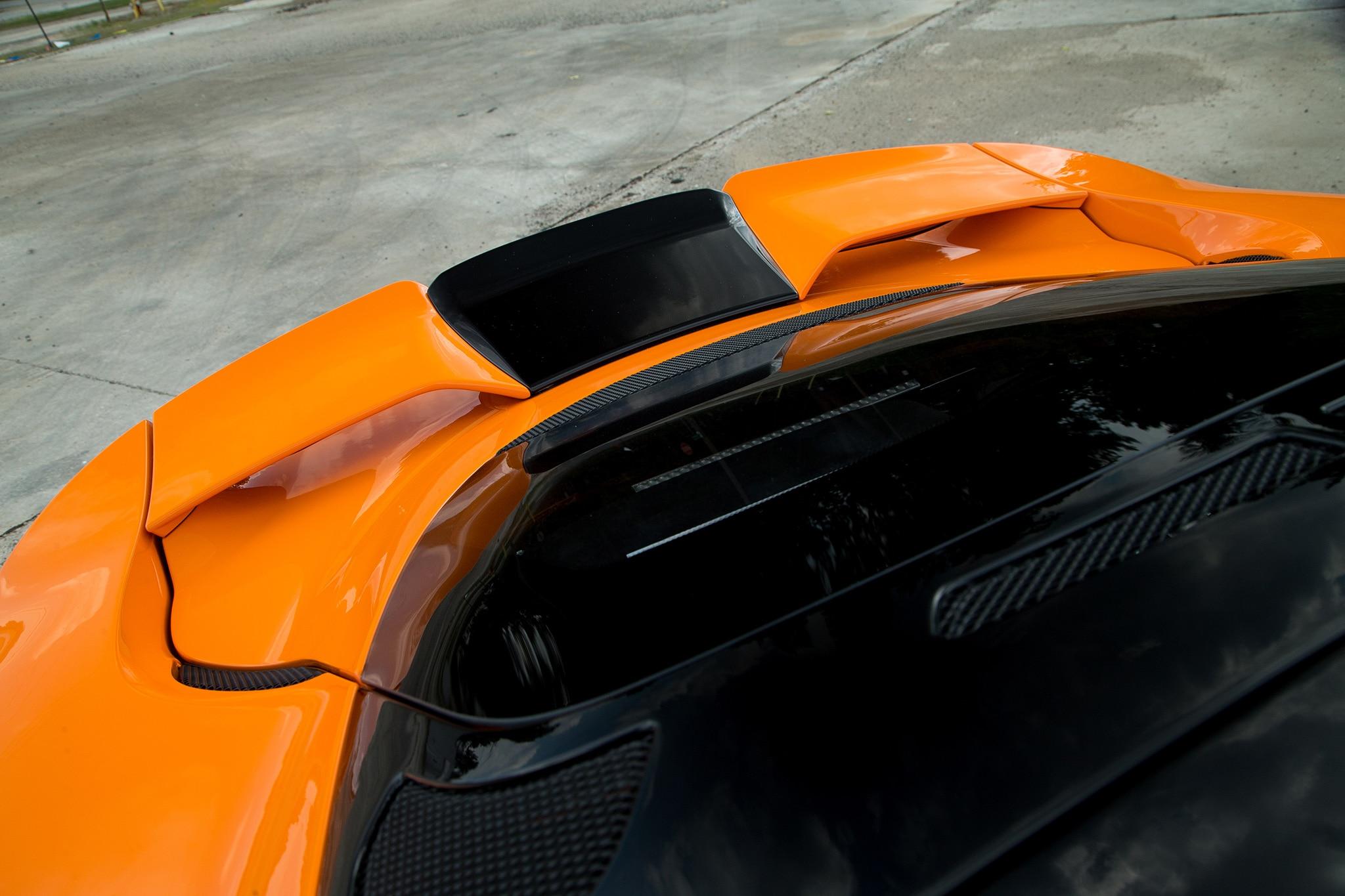2017 Lotus Evora 400 Rear Spoiler 01