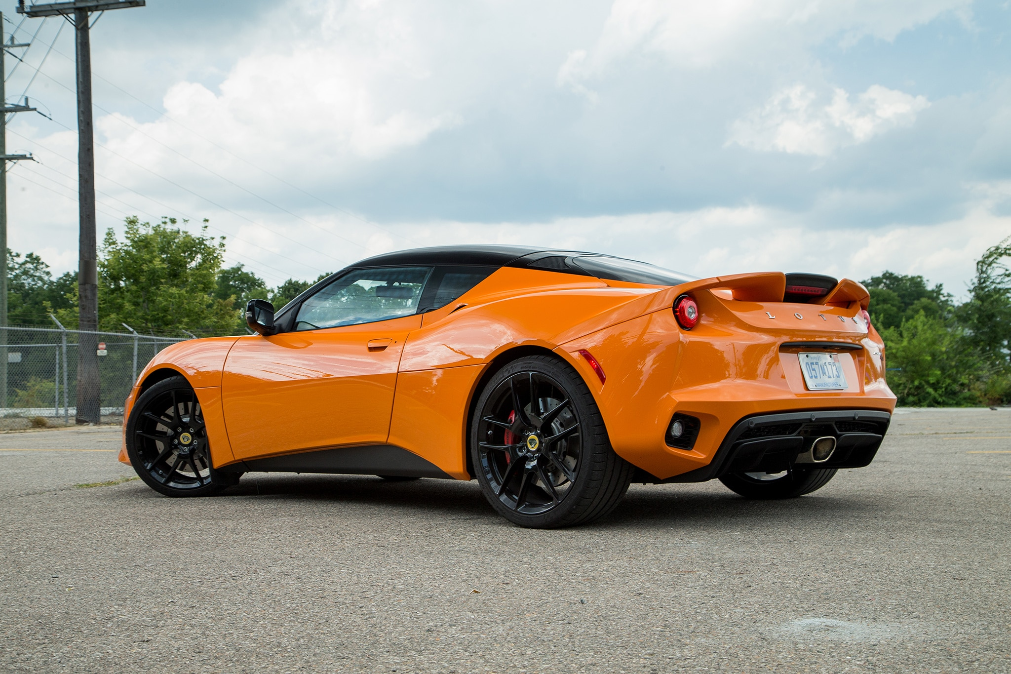 2017 Lotus Evora 400 Rear Three Quarter 05