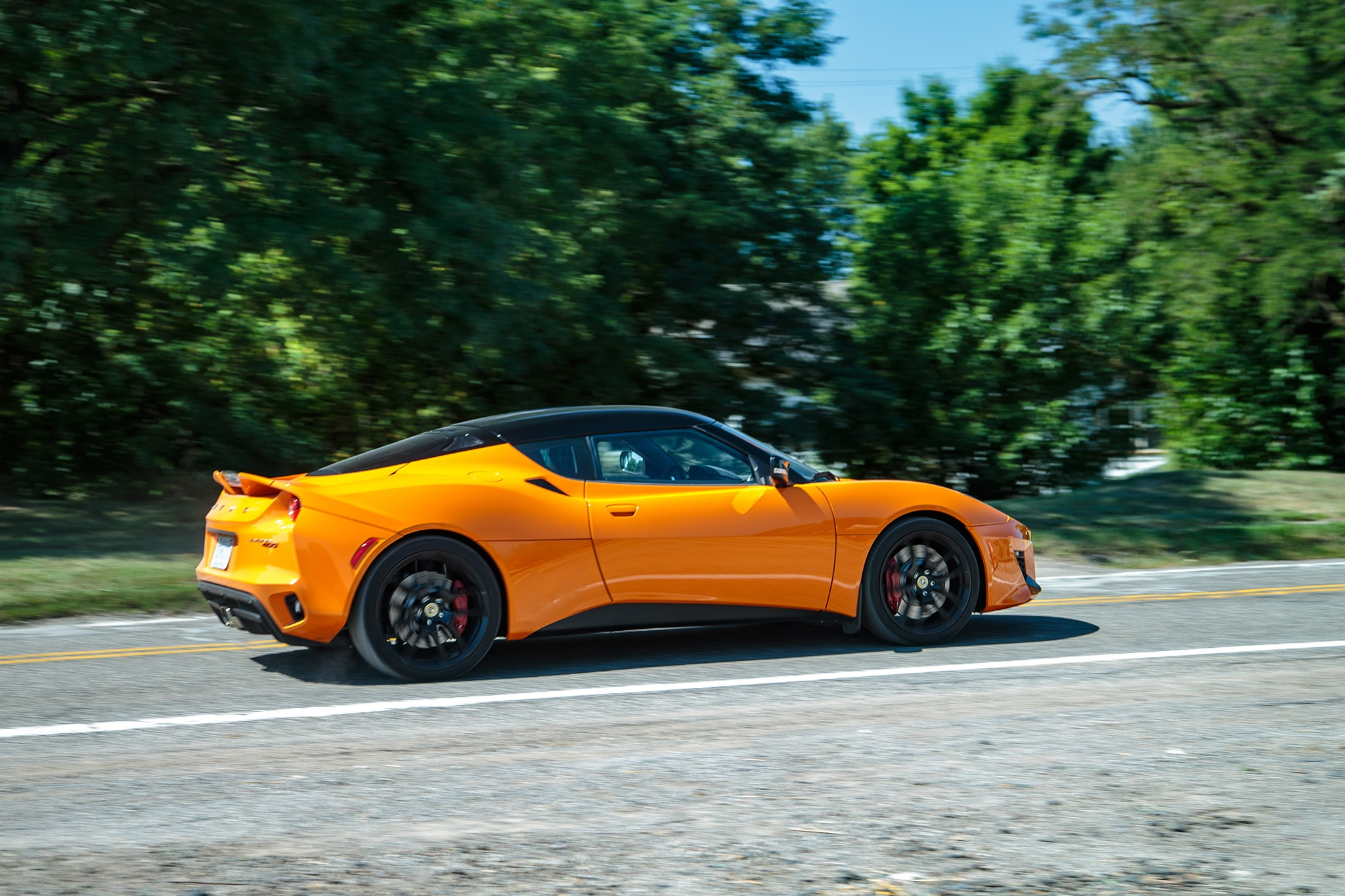2017 Lotus Evora 400 Rear Three Quarter In Motion 08