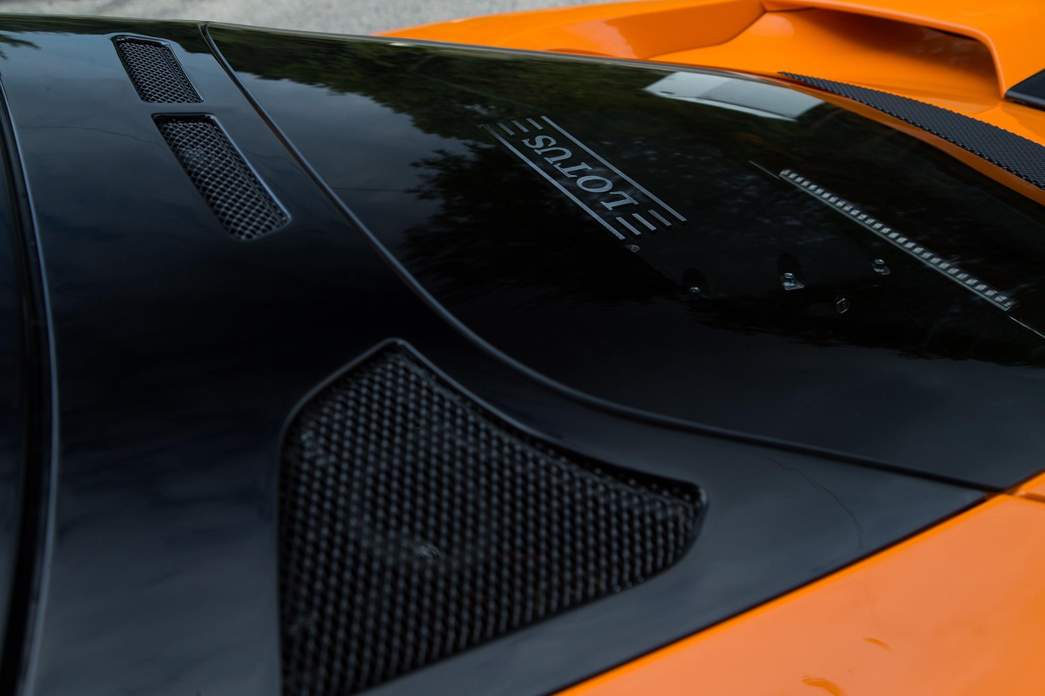 2017 Lotus Evora 400 Rear Window