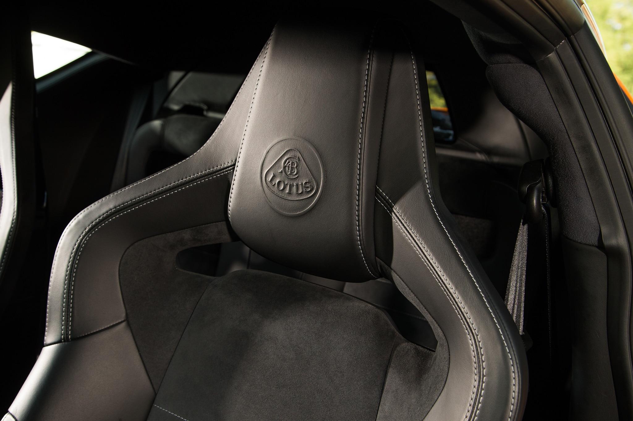 2017 Lotus Evora 400 Seat Detail 01