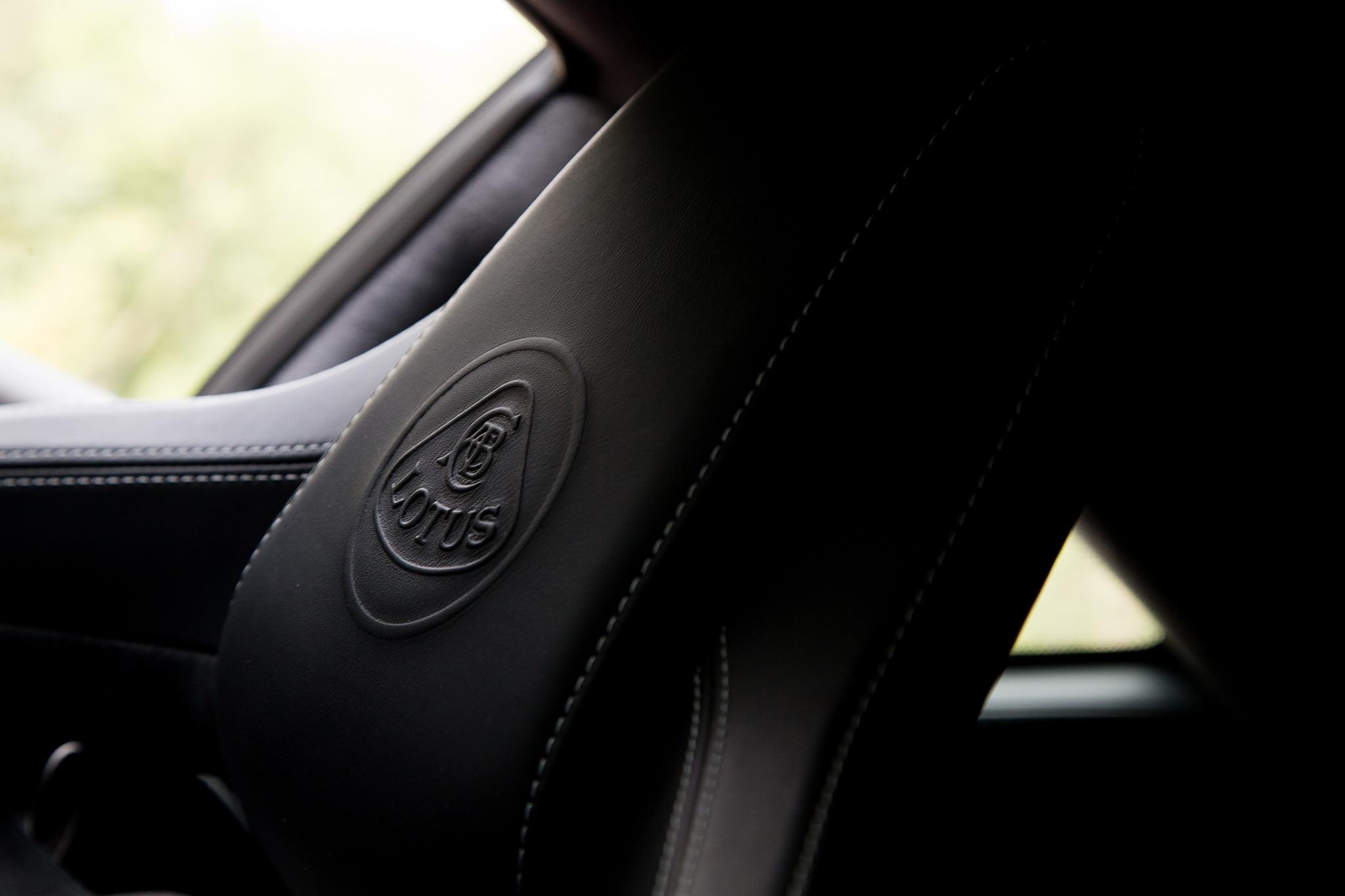 2017 Lotus Evora 400 Seat Detail 02