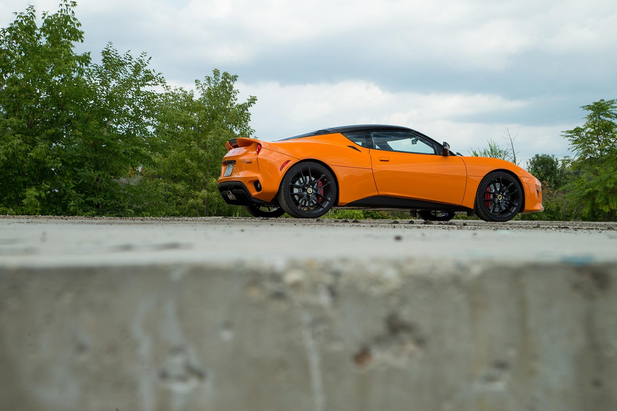 2017 Lotus Evora 400 Side Profile 1